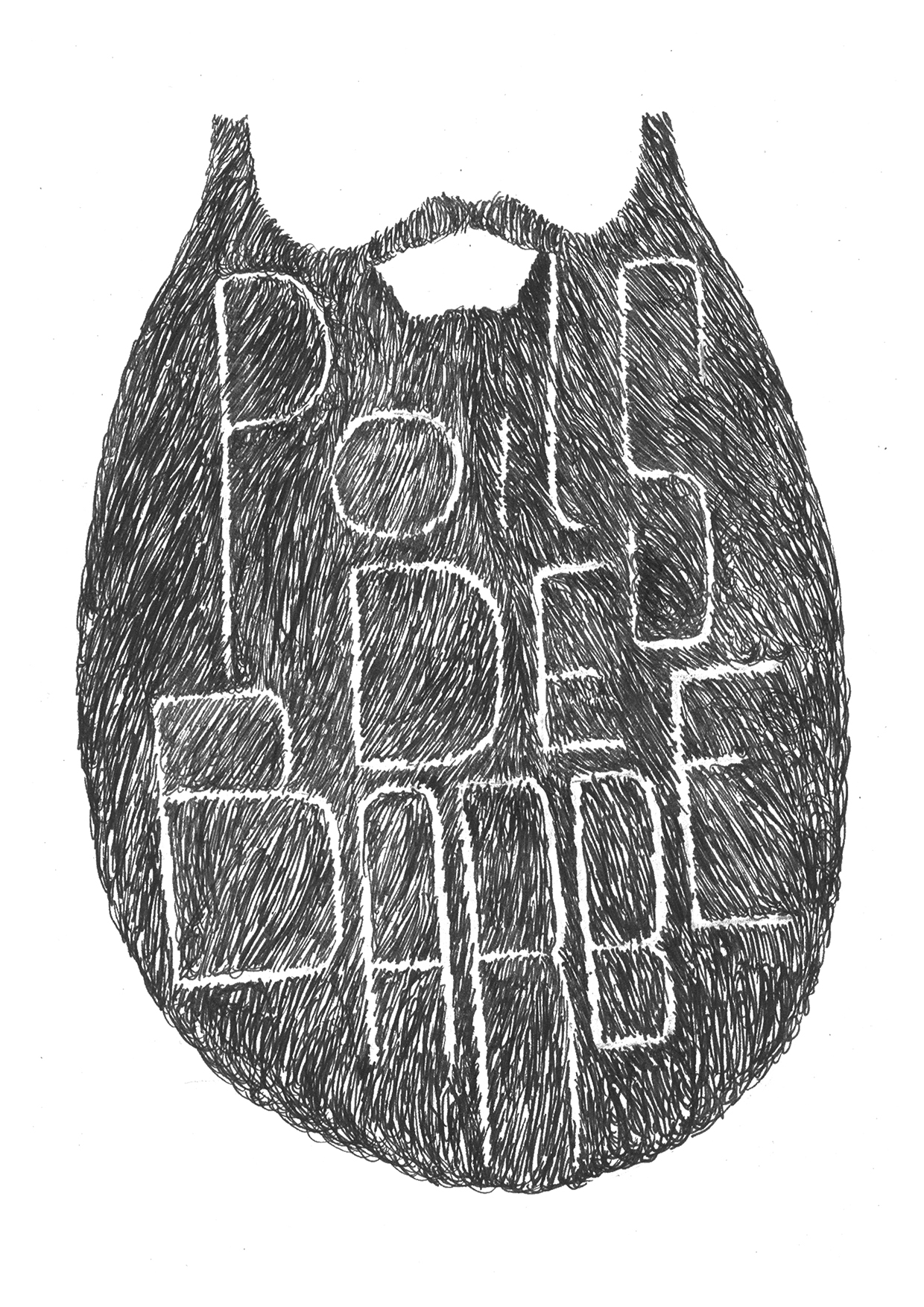 Poils de barbe
