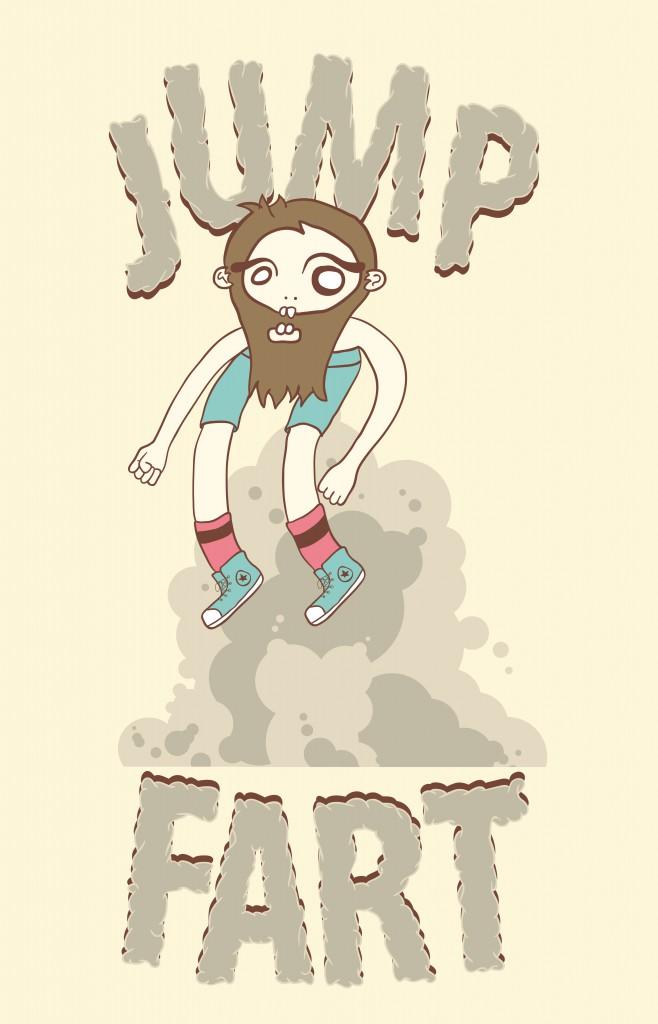 jump fart
