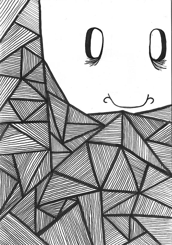 barbe triangle