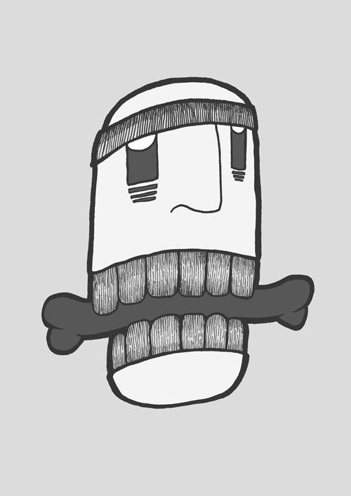 Bones'-eater